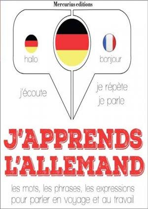 J'apprends l'allemand - compagnie du savoir - 9782821113862 -