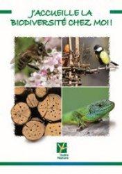 J'accueille la biodiversité chez moi - indre nature - 9782951943087 -
