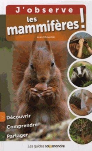 J'observe les mammifères ! - petite plume - 9791093655192 -