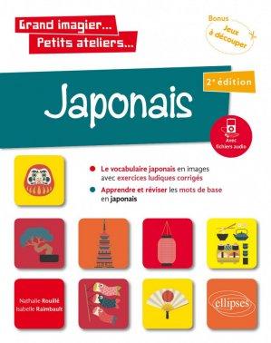 Japonais en images avec exercices ludiques - Ellipses - 9782340037465 -