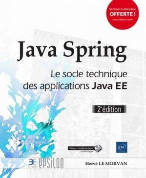 Java Spring - eni - 9782409013843 -