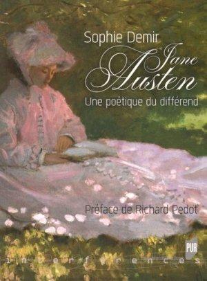 Jane Austen - presses universitaires de rennes - 9782753541931 -