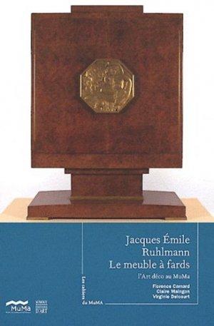 Jacques-Emile Ruhlmann Le Meuble à fards - somogy  - 9782757204955 -