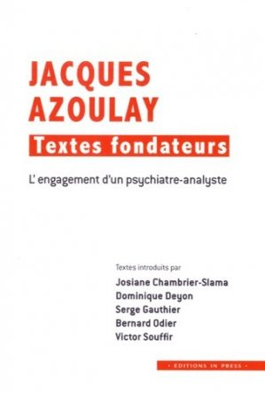 Jacques Azoulay : textes fondateurs-in press-9782848353548
