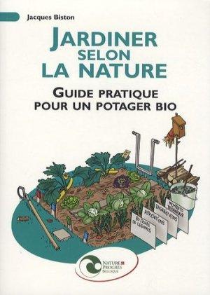 Jardiner selon La Nature - nature et progrès belgique - 9782930386416