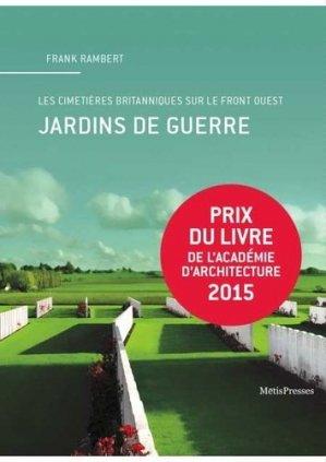 Jardins de guerre - metispresses - 9782940406869 -
