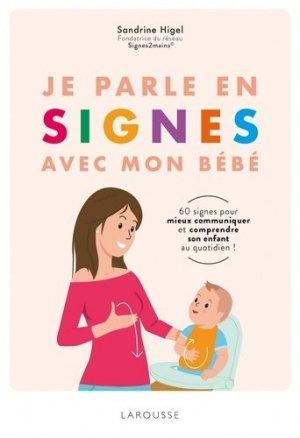 Je parle en signes avec mon bébé - larousse - 9782035948557 -