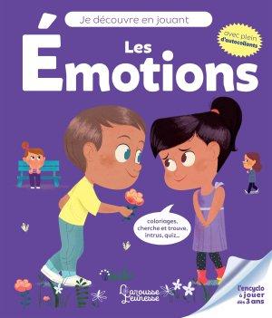Je découvre en jouant - Les émotions - larousse - 9782035959010 -