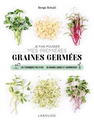 Je fais pousser mes premières graines germées - larousse - 9782035983862 -