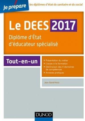 Je prépare le DEES 2017 - dunod - 9782100740420 -