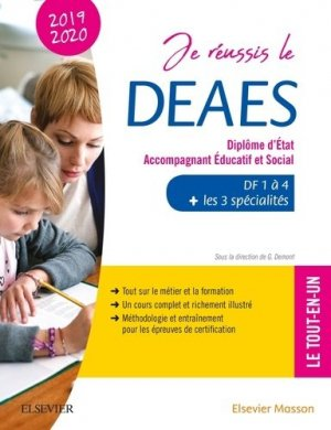 Je réussis le DEAES - elsevier / masson - 9782294761195 -