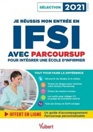 Je réussis mon entrée en IFSI avec Parcoursup - Vuibert - 9782311209914 -