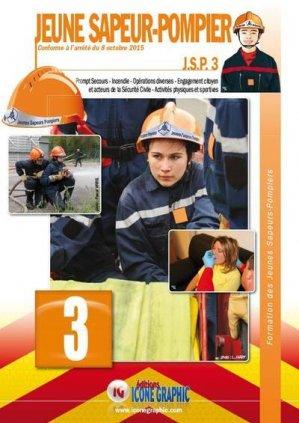 Jeune sapeur-pompier : JSP - icone graphic - 9782357385764 -