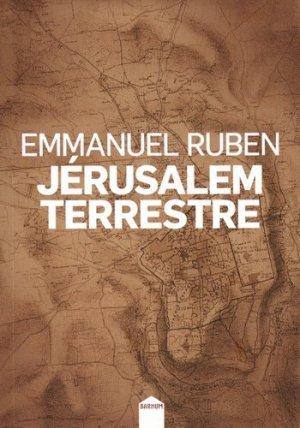 Jérusalem terrestre - Inculte-Dernière Marge - 9782360840366 -