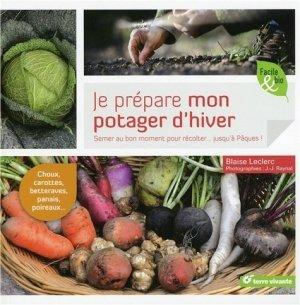 Je prépare mon potager d'hiver - terre vivante - 9782360981939 -