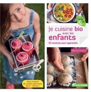 Je cuisine bio avec les enfants - terre vivante - 9782360982202 -