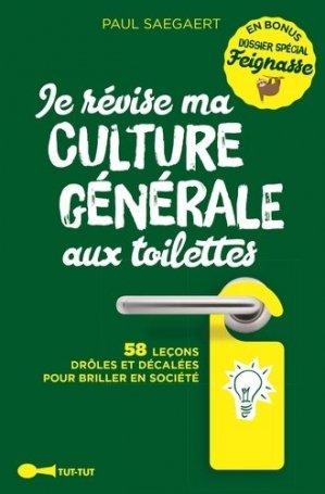 Je révise ma culture générale aux toilettes - tut tut - 9782367042503 -