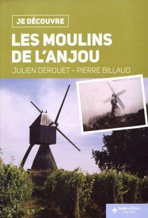 Je découvre les moulins de l'Anjou - geste - 9782367464312 -