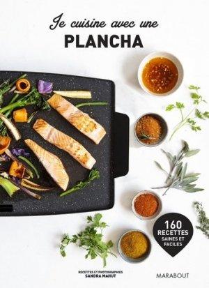 Je cuisine avec une plancha - Marabout - 9782501139090 -