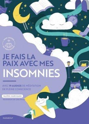 Je fais la paix avec mes insomnies - Marabout - 9782501144254 -