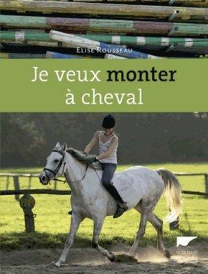 Je veux monter à cheval - delachaux et niestle - 9782603018637 -