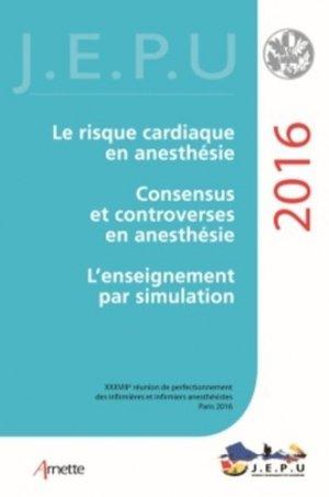 Jepu infirmiers 2016 - arnette - 9782718413945 -