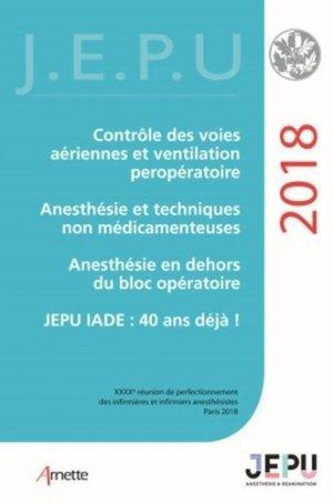 JEPU infirmiers 2018 - arnette - 9782718414850 -