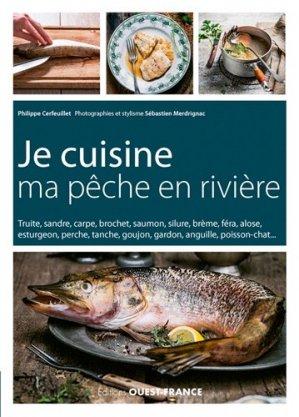 Je cuisine ma pêche en rivière - Ouest-France - 9782737369445 -