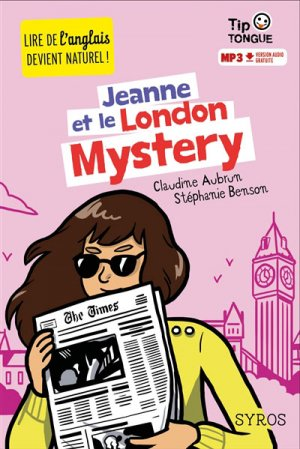 Jeanne et le London Mystery - syros - 9782748520743 -