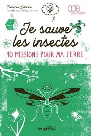 Je sauve les insectes - rustica - 9782815315425 -