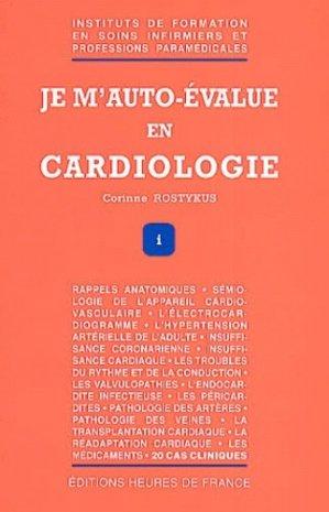 Je m'auto-évalue en cardiologie - heures de france - 9782853852111 -