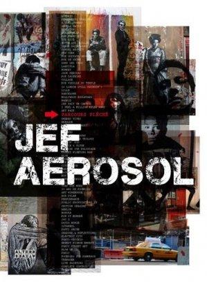 Jef Aérosol. Parcours fléché - Editions Alternatives - 9782862277516 -