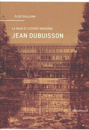 Jean Dubuisson - metispresses - 9782940563845 -