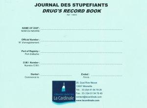 Journal des stupéfiants - la cardinale - 2304407669944 -