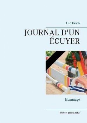 Journal d'un écuyer - books on demand editions - 9782322200771 -