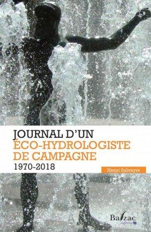 Journal d'un éco-hydrologiste de campagne - balzac - 9782373200171 -