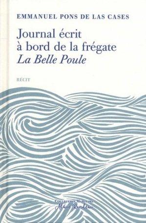 Journal écrit à bord de la frégate La Belle Poule - tohubohu - 9782376220633 - majbook ème édition, majbook 1ère édition, livre ecn major, livre ecn, fiche ecn