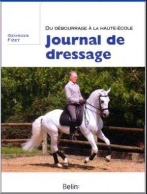 Journal de dressage - belin - 9782701155913 -