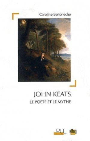John Keats - Presses Universitaires de Lyon - 9782729708481 -