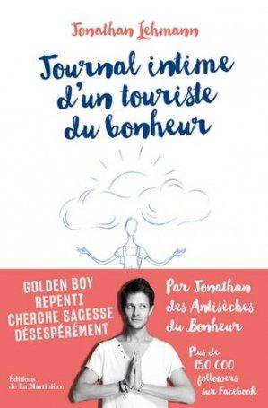 Journal intime d'un touriste du bonheur - de la martiniere - 9782732486826
