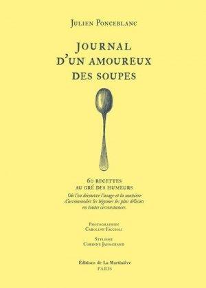 Journal intime d'un amoureux des soupes - de la martiniere - 9782732496399 -