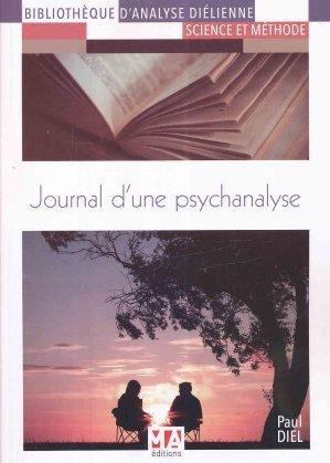Journal d'une psychanalyse - eska - 9782822405478 -