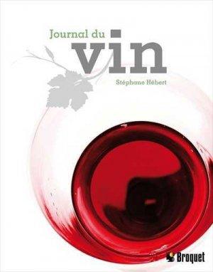 Journal du vin - broquet (canada) - 9782896540228 -