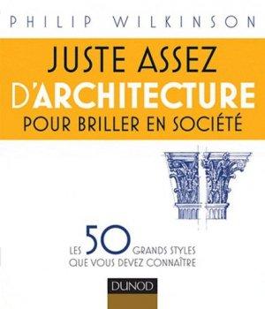 Juste assez d'architecture pour briller en société - dunod - 9782100549344 -