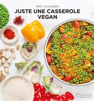 Juste une casserole vegan - Marabout - 9782501153850 -