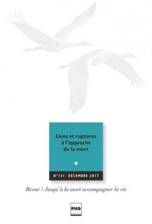 Jusqu'à la mort accompagner la vie N° 131, décembre 201 - pug - 9782706130137