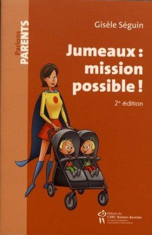 Jumeaux : mission possible ! - chu sainte-justine - 9782896199112 -
