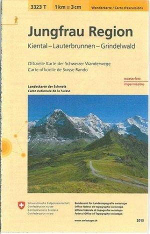 Jungfrau region indéchirable et résistante eau - Bundesamt Fur Landestopographi - 9783302333236 -