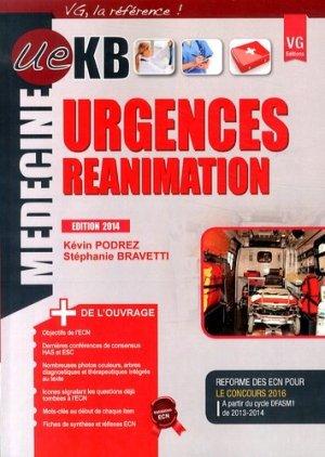 KB / iKB Urgences Réanimation - vernazobres grego - 9782818311929 -