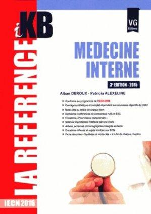 KB / iKB Médecine interne - vernazobres grego - 9782818313077 -